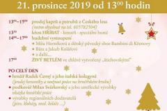 II. Vánoční trhy na Foistově statku 21.12.2019